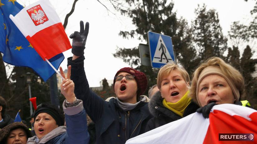Poľsko, protesty