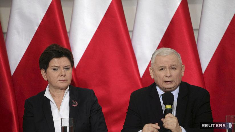 Beata Szydlová, Szydlo, Jaroslaw Kaczyński,