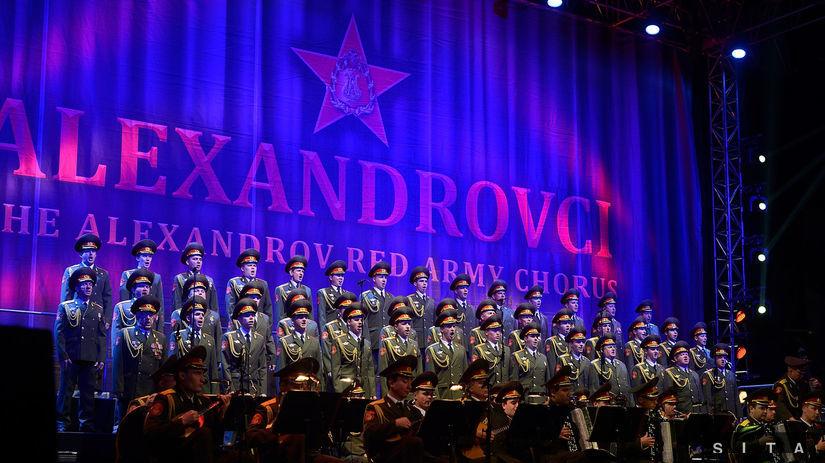 HUDBA: Koncert Alexandrovci