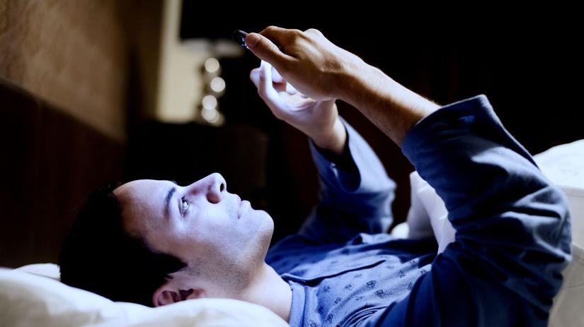 mobil, spánok