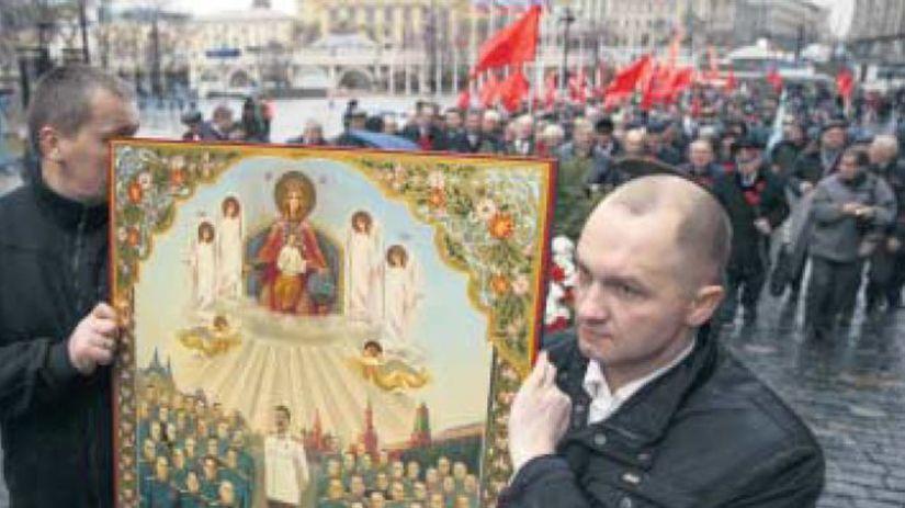 komunisti, Moskva