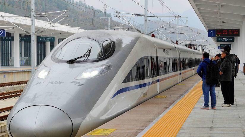 rýchlovlak, vlak, Čína, Harmony CRH 380A