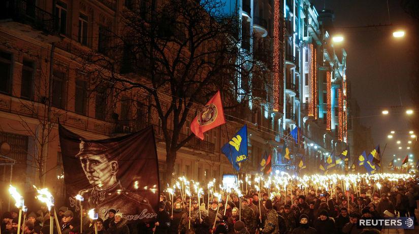 ukrajina, bandera
