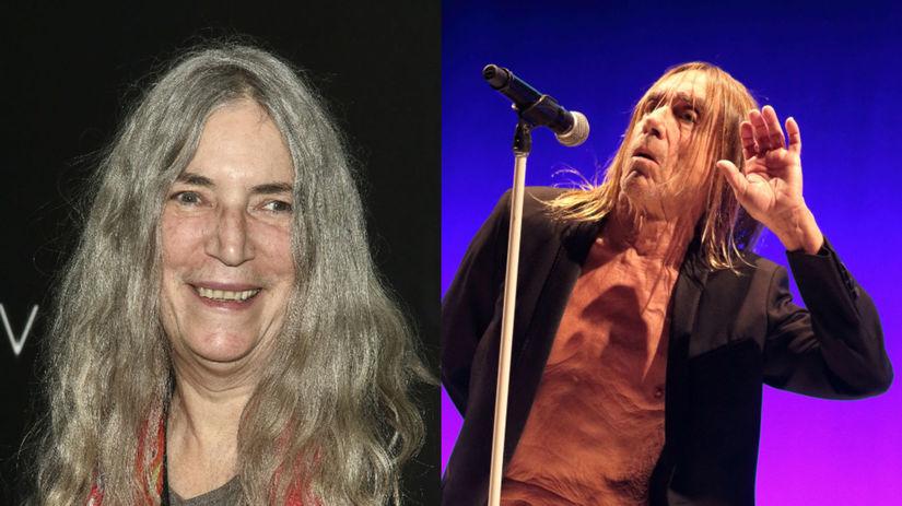 Patti Smith Iggy Pop
