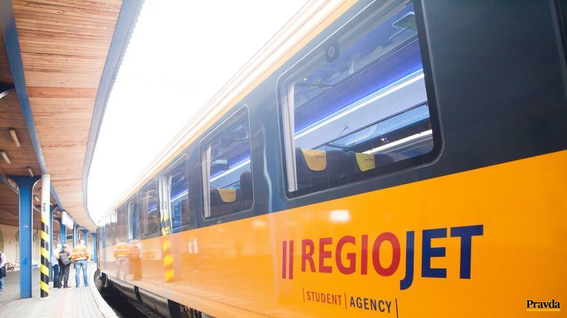vlak, regiojet, regio jet, student agency