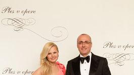 Bývalý minister spravodlivosti Tomáš Borec s manželkou.