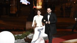 Do Opery dorazil aj moderátor Milan Junior Zímnykoval.