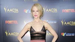 e8e641c3d58 Nicole Kidman na vyhlásení cien plochá ako lata