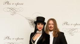 Lucia Hablovičová a dizajnér Boris Hanečka