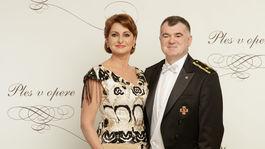 Reportérka a novinárka Danica Kleinová s partnerom Alexandrom Nejedlým.