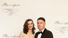 Tibor Búza s manželkou.