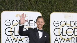 Herec Tom Hiddleston.