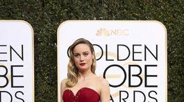 Herečka Brie Larson v róbe Rodarte.