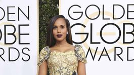 Herečka Kerry Washington v kreácii Dolce & Gabbana.
