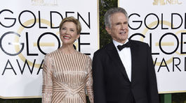 Herecký manželský pár Annette Bening a Warren Beatty.
