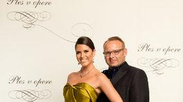 Lekár Jozef Dolinský a jeho partnerka - autorka a moderátorka Jana Mutňanská.