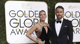 Manželský pár Blake Lively a nominovaný Ryan Reynolds.