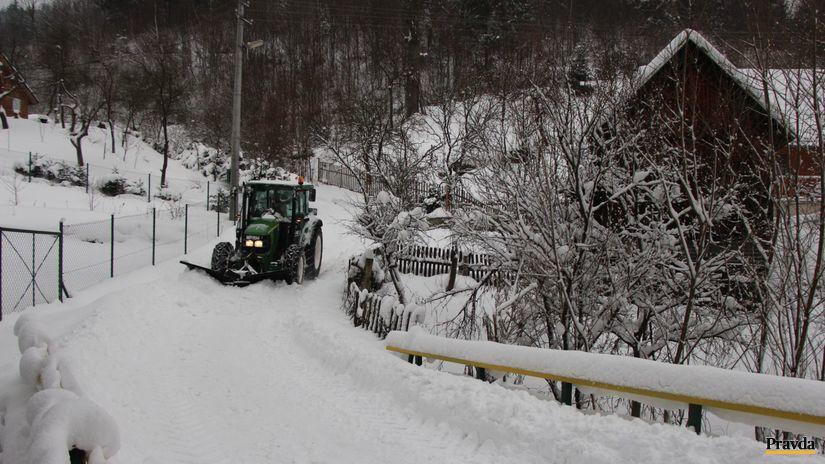 Kysuce, Orava, sneh, zima