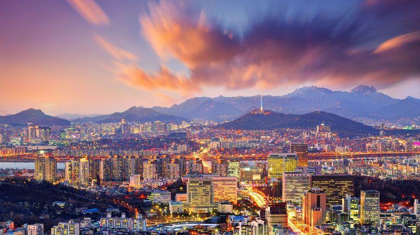 Soul, Južná Kórea, mesto