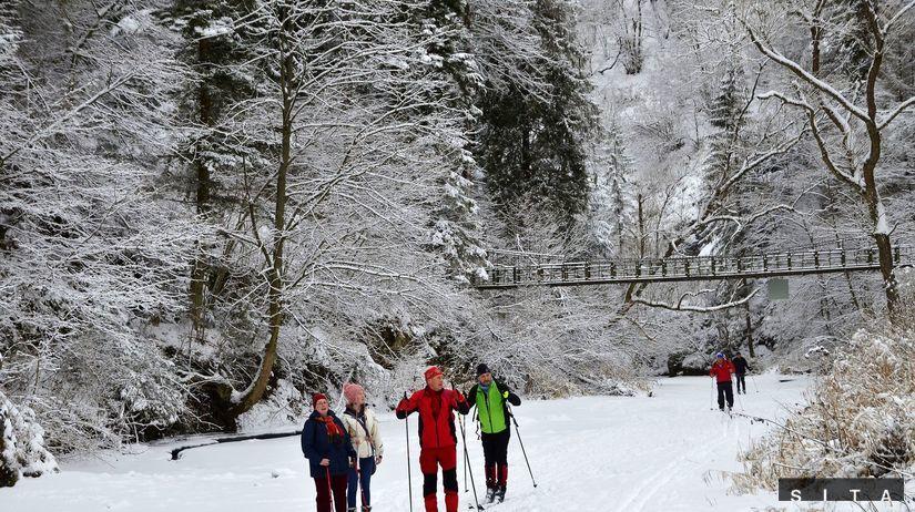Slovenský raj, Hornád, zima, sneh, mráz,...