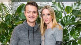 Moderátorka Adela Banášová a jej partner Viktor Vincze.