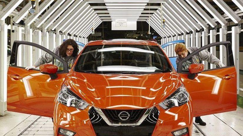 Nissan Micra - výroba Flins
