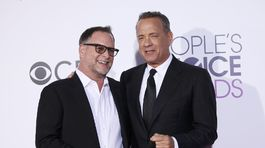 Herci Dave Coulier (vľavo) a Tom Hanks.