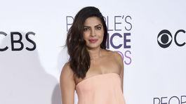 Herečka Priyanka Chopra vyzerala veľmi pôvabne.
