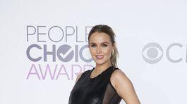 Tehotná herečka Camilla Luddington.