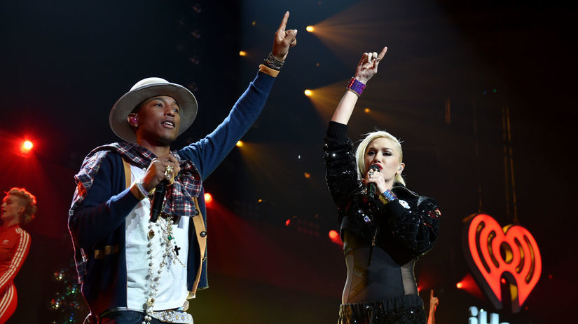 Pharrell Williams Gwen Stefani
