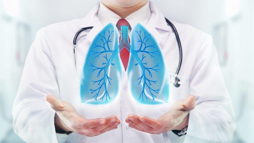 pluca, chochp, choroba, zdravie, lekár