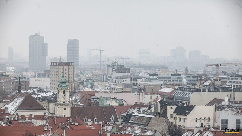 smog, bratislava, mesto