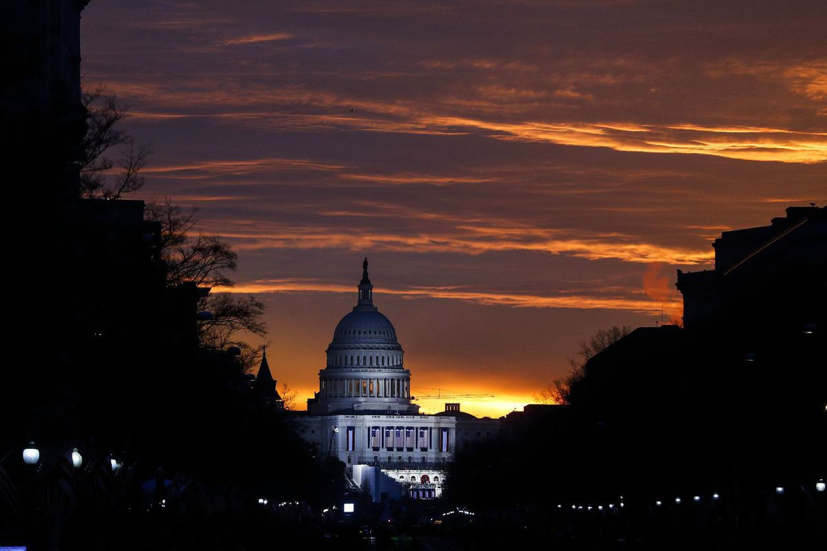 Washington, Kapitol, USA, Amerika, Trump,