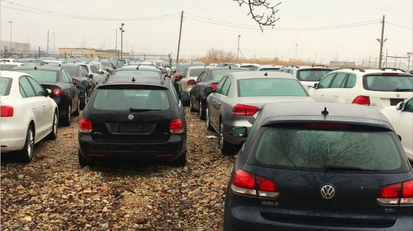 VW - vykúpené autá TDI v USA