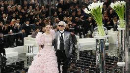 Prehliadka značky Chanel, kolekcie Haute Couture v Paríži.