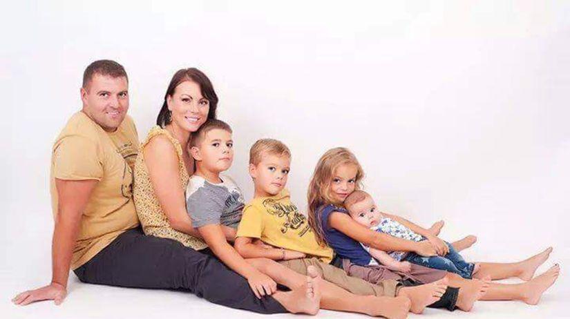 rodina, otec, mama, deti