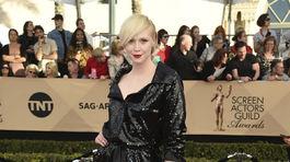 Herečka Gwendoline Christie prišla v kreácii Vivienne Westwood Couture.