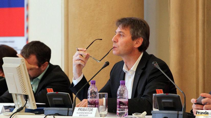 Ivo Nesrovnal, rokovanie