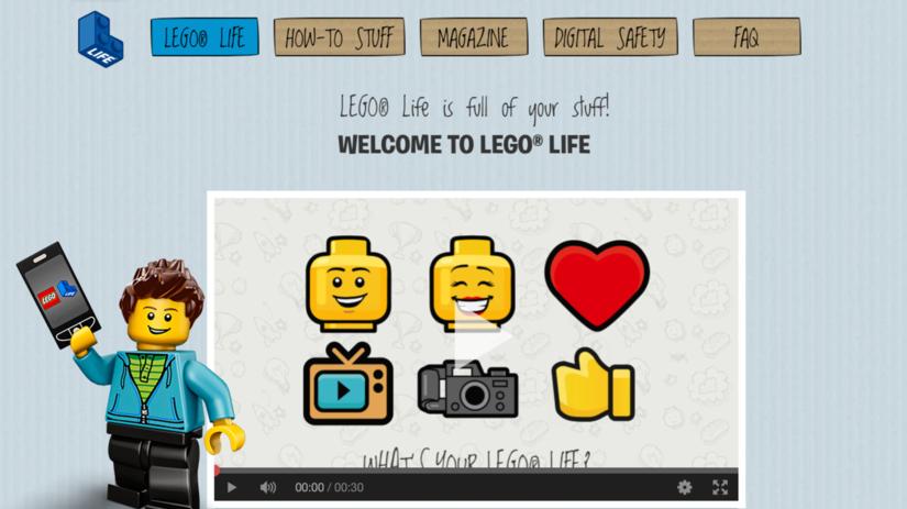 Lego Life, sociálna sieť