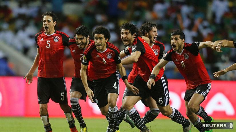 Egypt, futbal, radosť