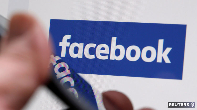 Facebook, logo, smartphone