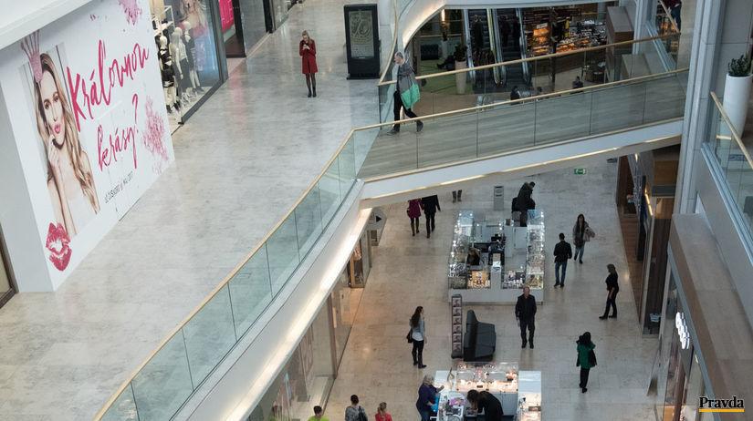 nakupne centrum nakupovanie Eurovea nedela
