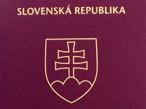 Slovak passport biometric, slovenský pas