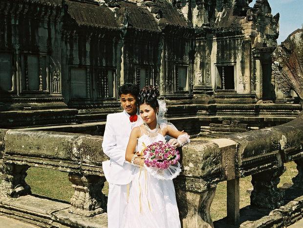 V Angkore sa fotia aj páriky.