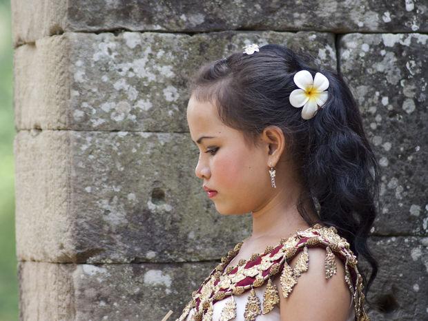 Kambodžská kráska