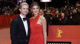 Nemecká modelka Stefanie Giesinger a jej priateľ Marcus Butler.