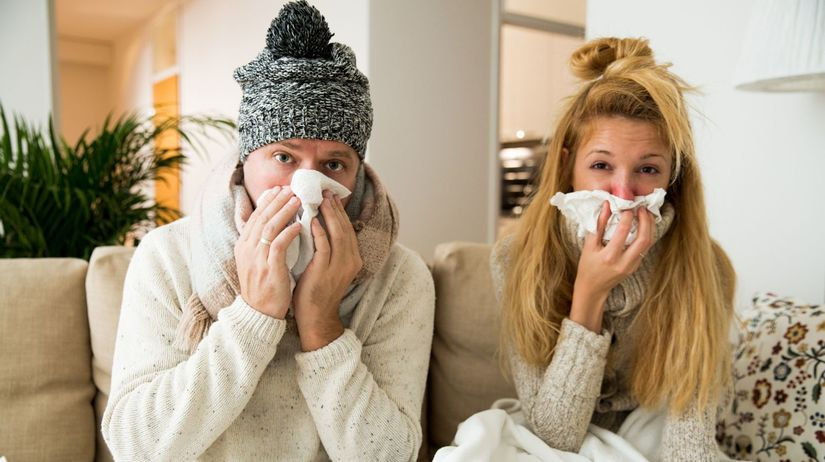 chrípka, choroba,