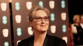 Herečka Meryl Streep v kreácii Givenchy.