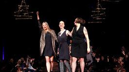 Mira Sorvino, zakladateľka organizácie #CancerlandChampagne Joy a dizajnérka AnaOno