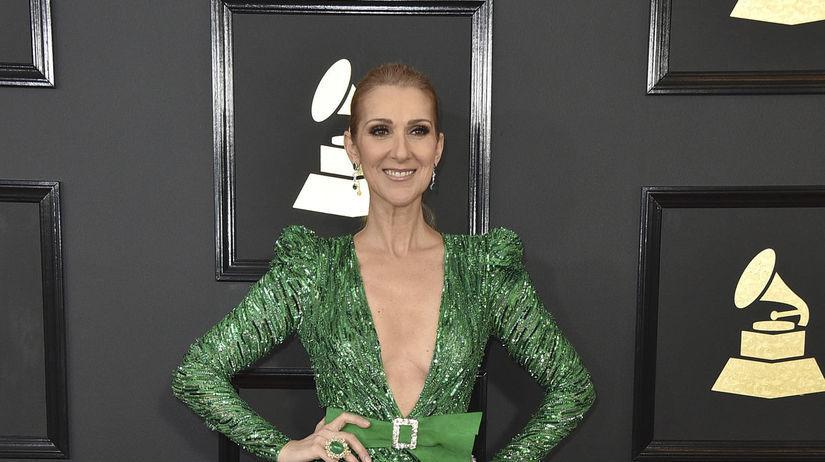 Speváčka Celine Dion v róbe Zuhair Murad.